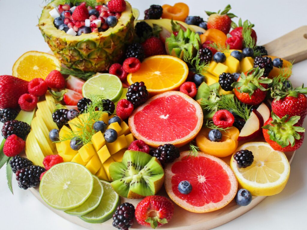 Eat more Vegetables and Fruits.
